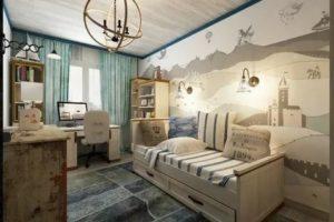 3 детских спальни для юных моряков и путешественников