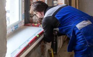 Как демонтировать пластиковый подоконник