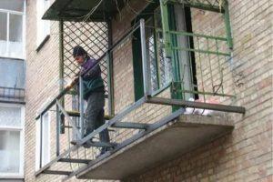 Расширение балкона без разрешения