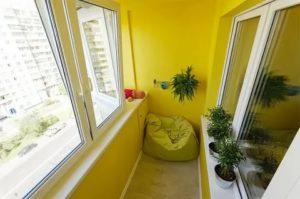 Как покрасить балкон своими руками