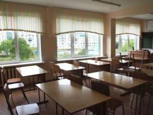 Размер школьного окна в классе