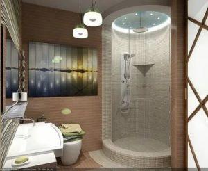 Как оформить дизайн ванной комнаты с душевой кабиной – несколько интересных идей