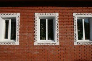 Наличники из пластика на окна наружные