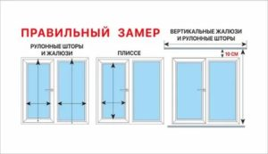 Как правильно замерить жалюзи на пластиковые окна