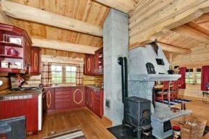Как сделать загородный дом с печным отоплением