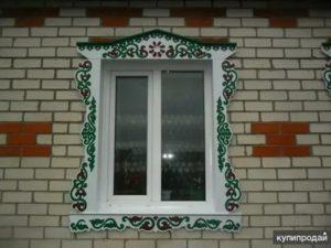 Наличники из металла на окна
