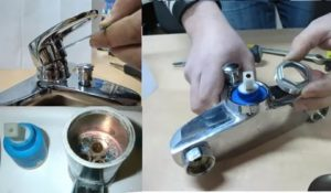 Самостоятельный ремонт кухонного смесителя с двумя вентилями
