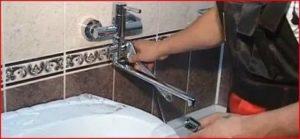 Установка смесителя в ванной: какие условия следует учесть