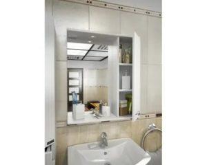 Зеркало над раковиной в ванной комнате