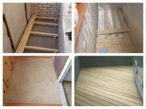 Чем обработать деревянный пол на балконе