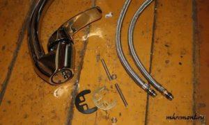 Как крепится смеситель к раковине: 2 варианта самостоятельной установки