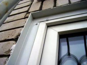 Монтаж нащельников на пластиковые окна