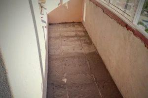 Как сделать стяжку пола на балконе