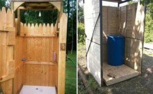 Делаем летний душ из дерева своими руками: основные этапы возведения постройки на дачном участке