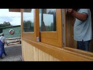 Раздвижные деревянные окна своими руками
