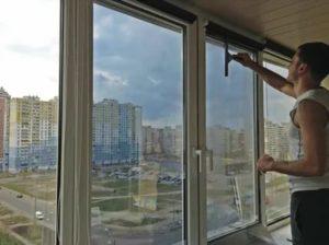 Как затонировать окна на балконе