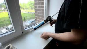 Герметизация пластиковых окон своими руками