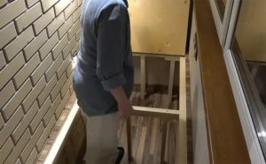 Подиум на балконе своими руками