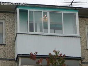 Остекление балкона поликарбонатом своими руками