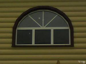 Отделка арочных окон снаружи