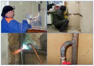 Газовая труба – особенности, перенос и монтаж