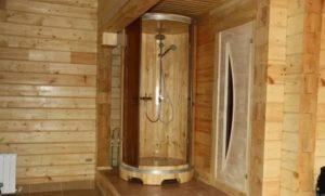 Душевая в бане: приобретение качественных материалов, особенности монтажа