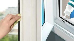 Уход за пластиковыми окнами зимой и летом