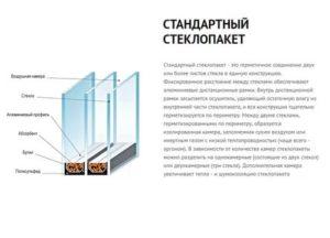 Как определить количество камер в стеклопакете