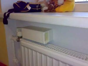 Приточная вентиляция под подоконником