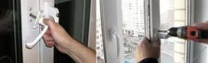 Прокручивается ручка пластикового окна ремонт