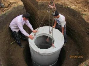 Способы монтажа водопроводных колодцев