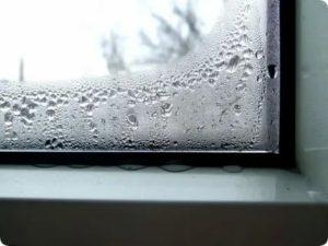 Почему замерзают пластиковые окна изнутри на балконе