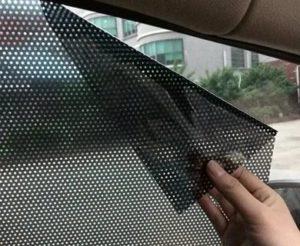Защитный экран на окно от солнца