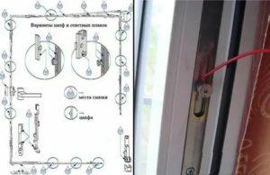 Как устроен механизм пластикового окна