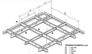 Подвесная система армстронг технические характеристики