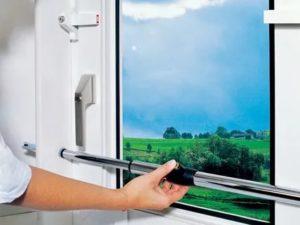 Защита пластиковых окон от вскрытия своими руками