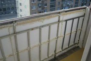 Утепление балкона в хрущевке своими руками
