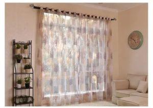 Как выбрать шторы и тюль для зала?