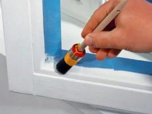 Как покрасить пластиковое окно в домашних условиях