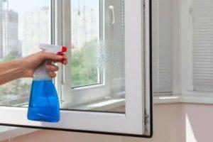 Как мыть пластиковые окна снаружи