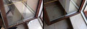 Как отмыть окна после ремонта от грунтовки