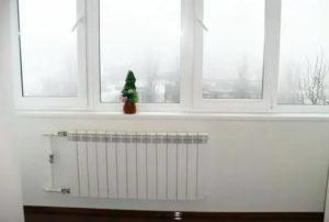 Можно ли вывести отопление на балкон