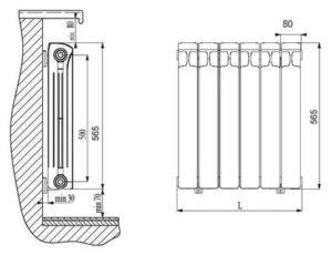 Устройство радиатора отопления: основные варианты конструкций, чугунные, стальные, алюминиевые и биметаллические батареи