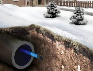 Как разморозить трубы водопровода правильно