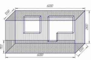 Ширина балкона в панельном доме