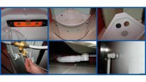 Монтаж душевой кабины – выбор и установка поддона, стенок, крыши, подключение к коммуникациям