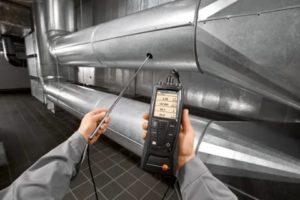 Обследование вентиляции для своевременного выявления неполадок и загрязнений