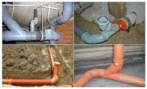 Канализационный отвод: как выбрать нужные изделия и состыковать их с трубами