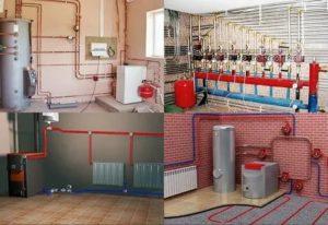 Какими способами можно осуществить монтаж системы отопления частного дома
