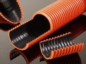 Двустенная гофрированная труба: область применения и технические параметры